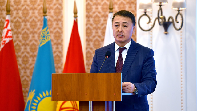 Вице-премьер-министр Замирбек Аскаров: Евразия экономикалык биримдиги – бул өзүнүн иш жөндөмдүүлүгүн далилдеп, жүзөгө ашкан долбоор