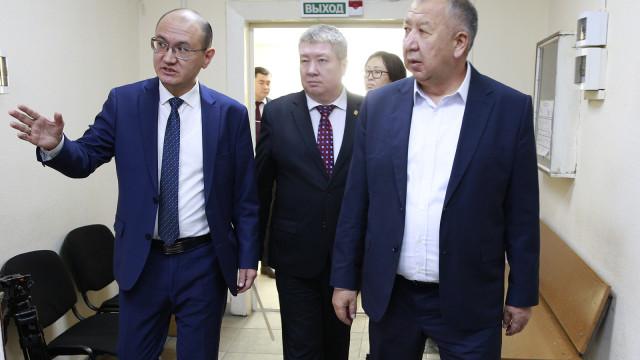 Биринчи вице-премьер-министр Кубатбек Боронов: «Электрондук нотариус» иштин ачыктыгын арттырууга, коррупциялык көрүнүштөрдү жоюуга багытталган