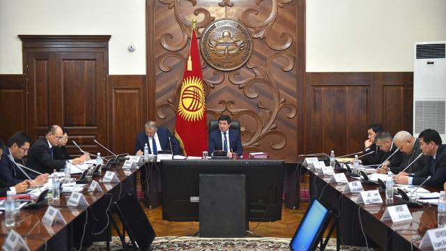 Премьер-министр Мухаммедкалый Абылгазиев: Курулуш тармагынын өсүүсү инфраструктуралык өнүгүүгө олуттуу таасир этет