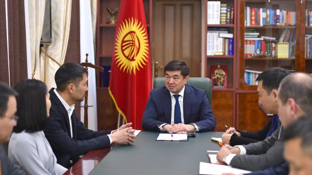 Премьер-министр Мухаммедкалый Абылгазиев: Жаштарды тарбиялоодо кинематографтын ролу кыйла маанилүү. Бул тармакты өнүктүрүүбүз зарыл