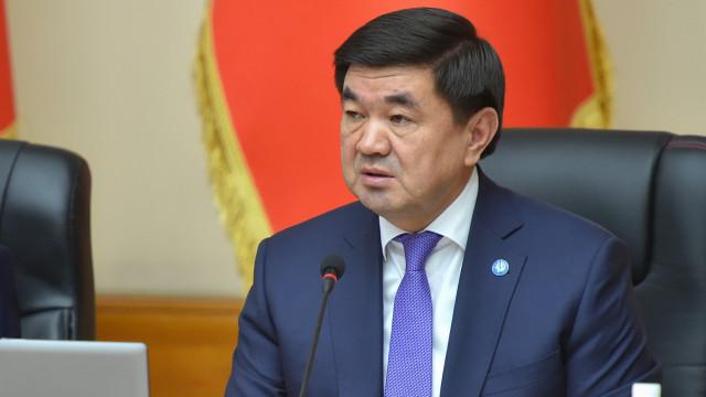 Премьер-министр Мухаммедкалый Абылгазиев: Коронавирустун жайылышына жол бербөө боюнча бардык чаралар кабыл алынды
