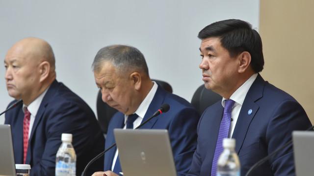 Премьер-министр Мухаммедкалый Абылгазиев: Санариптештирүү - бул мезгил талабы гана эмес, бул заманбап дүйнөгө кеңири жол