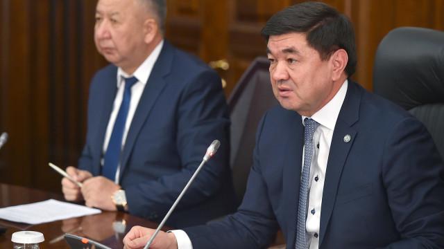 Премьер-министр Мухаммедкалый Абылгазиев: Өлкөнү өнүктүрүү саясатын натыйжалуу ишке ашыруу көбүнесе жер-жерлерде кабыл алынган чечимдердин сапатынан көз каранды
