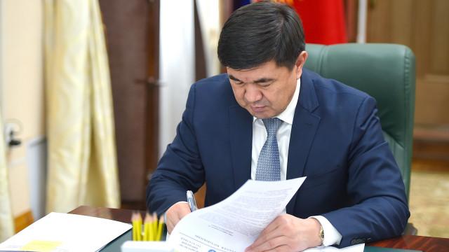 Премьер-министр Мухаммедкалый Абылгазиев: «Айыл чарбасын каржылоо» долбоору айыл чарбасын өнүктүрүүнүн маанилүү инструменти болуп саналат