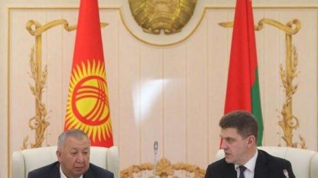 Соода-экономикалык кызматташтык боюнча Кыргыз-Белорус комиссиясынын тогузунчу жыйыны болду