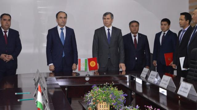 Кыргыз-тажик мамлекеттик чек арасын делимитациялоо жана демаркациялоо маселелери боюнча кеңири пикир алмашуу болуп өттү