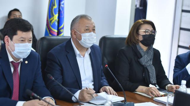 Биринчи вице-премьер-министр Кубатбек Боронов: Бардык көйгөйлөр кечиктирилбестен жеринде чечилүүгө тийиш