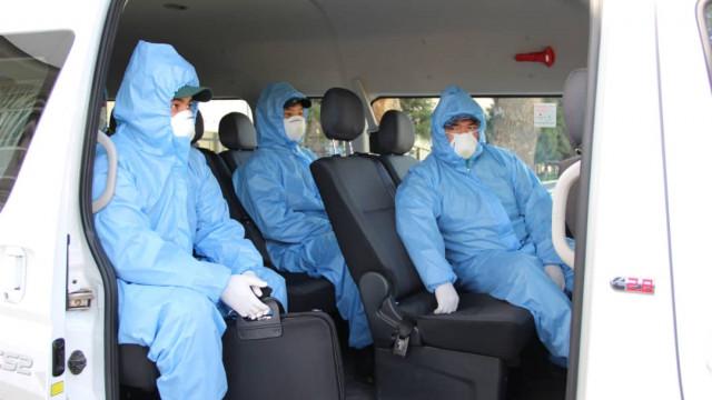 Ошто карантиндик посттогу  милиция жана медицина кызматкерлери толук коргонуучу костюмдары менен камсыз болду