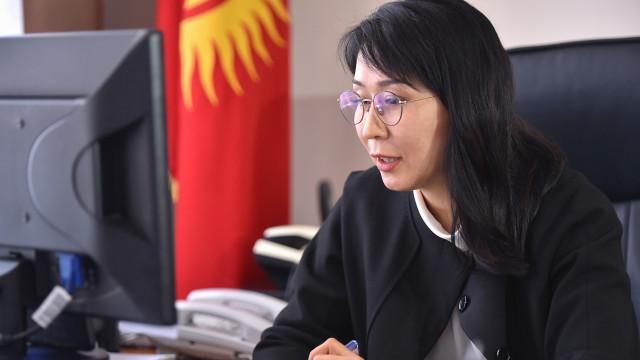 Вице-премьер-министр Аида Исмаилова жана Дүйнөлүк Банктын Туруктуу өкүлү Болормаа Амгаабазар кызматташтык маселелерин талкуулады