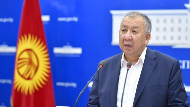Премьер-министр: Бишкекте жана Чүй облусунда 70 миң сомго чейин айлык акы менен дарыгерлерди контракттык негизде жумушка тартуу иши башталды