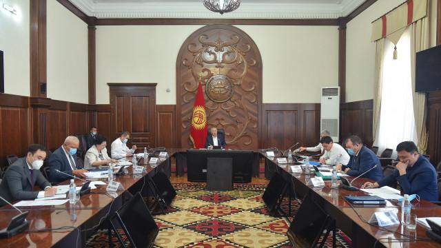 Премьер-министр Кубатбек Боронов: Резервдерди мобилизациялоо жана жыйымдарды чогултуунун көрсөткүчүн жакшыртуу керек