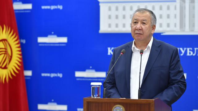 Премьер-министр Кубатбек Боронов: Өкмөт экономикалык өсүштү камсыз кылуу үчүн шарттарды түзүүнүн үстүндө иштеп жатат