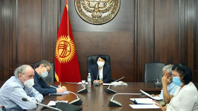 Вице-премьер-министр Аида Исмаилова клиникалык ординатура маселеси боюнча кеңешме өткөрдү