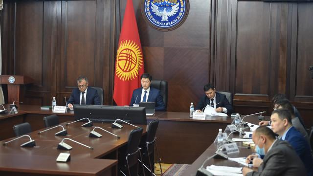 Премьер-министр Улукбек Марипов: Тандоо элдин гана колунда