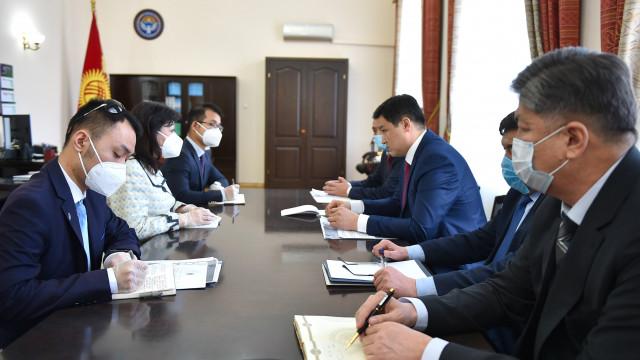 Премьер-министр Улукбек Марипов: Китайская Народная Республика  является для нас надежным партнером