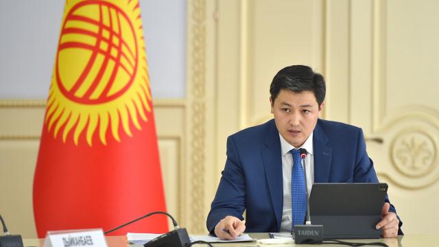 Министрлер кабинетинин Төрагасы Улукбек Марипов: «Кыргыз Республикасынын 2021-2023-жылдарга санариптик экономикасы» концепциясы кардарга багытталган чөйрөнү түзүүнү карайт