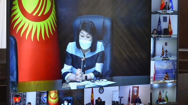 Министрлер Кабинетинин Төрагасынын орун басары Жылдыз Бакашова: Жайкы эс алуу мезгилиндеги балдардын коопсуздугу эң жогорку деңгээлде болуусу тийиш