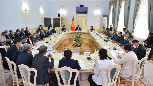 Уюштуруу комитети Кыргыз Республикасынын Эгемендүүлүгүнүн 30-жылдыгына даярдык көрүү жана аны өткөрүү планын карады