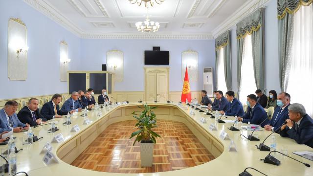 Министрлер Кабинетинин Төрагасы Улукбек Марипов: Кыргыз-түрк соода-экономикалык байланыштарын чыңдоо зарыл