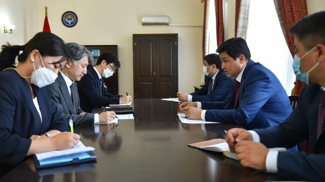 Улукбек Марипов: Кыргызская Республика заинтересована в развитии экономического и инвестиционного сотрудничества с Республикой Корея