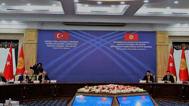 Түз эфир. Соода-экономикалык кызматташтык боюнча кыргыз-түрк өкмөттөр аралык комиссиянын X отуруму