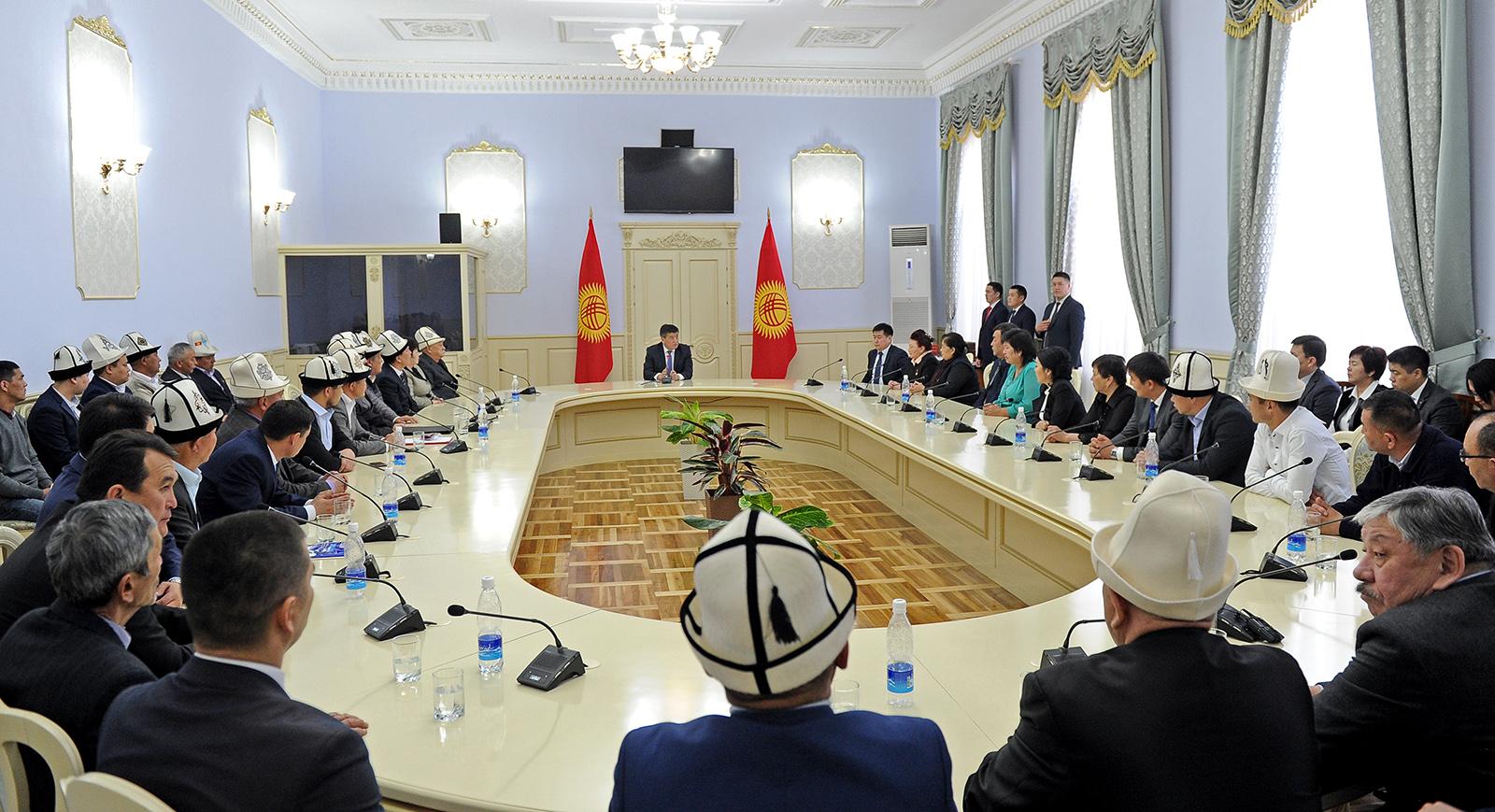 Аппарата правительства кыргызской республики